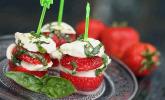 Erdbeeren à la Caprese