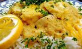Fischcurry mit Rhabarber