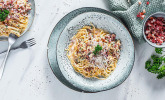 Italienische Carbonara-Sauce