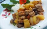 Puten-Räuberfleisch vom Blech