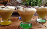 Rhabarber - Vanillepudding