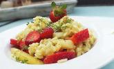 Spargel-Erdbeer-Risotto