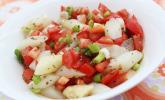 Spargel mit Tomatensalsa