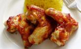 Barbecue Chicken Wings (Hähnchenflügel) nach amerikanischer Art