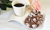 Chocolate Crinkles oder Black and Whites