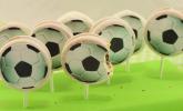 Fußball Cookie-Pops