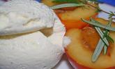 Gegrillte Pfirsiche mit Thymian und Rosmarin