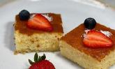 Grieß-Joghurt-Kuchen mit Zuckersirup