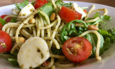 Spaghetti-Pesto-Salat
