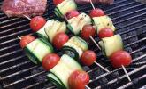 Zucchini-Spieße vom Grill