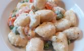 Gemüse-Rahm-Gnocchi