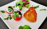 Gefüllte Tomaten mit Couscous und Feta