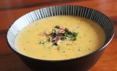 Leckere Kartoffel-Möhren-Suppe