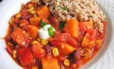 Süßkartoffel-Chili Con Carn