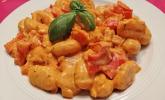 Gnocchi mit Paprikarahmsauce