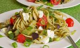 Bibis sommerlicher Spaghetti-Gemüse-Salat