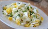 Karfiol mit Eier-Kräuter-Sauce