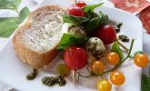 Tomate-Mozzarella-Sticks