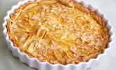 Apfelkuchen mit Amaretto-Sahne-Guss