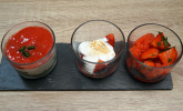 Nachspeise: Dreimal Erdbeere