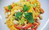 Rezept One Pot Pasta-Kokosmilch-Curry