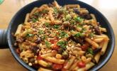 Rezept Strozzapreti mit Rinderfiletspitzen und Tomaten