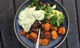Rezept Vegane Curry-Linsen-Bowl