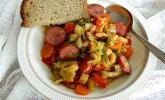 Rezept Wirsing-Paprika-Cabanossi Topf