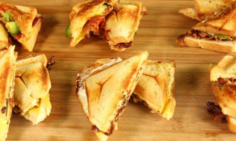 Baconliebe aus dem Sandwichmaker
