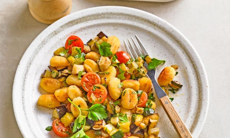 Gnocchi Gemüsepfanne