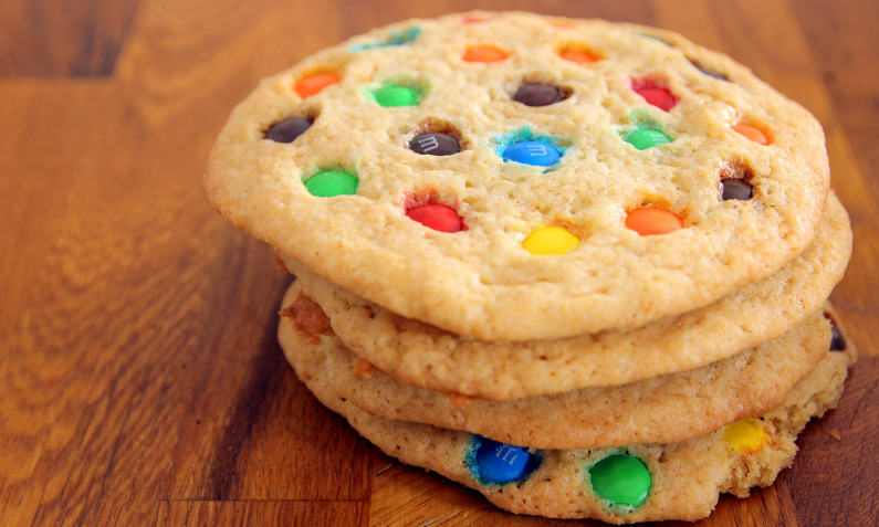 M&M's-Cookies