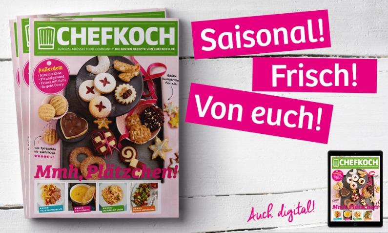 Teaser Chefkoch Print November