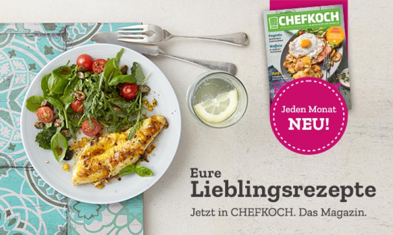 Chefkoch Printmagazin Februar