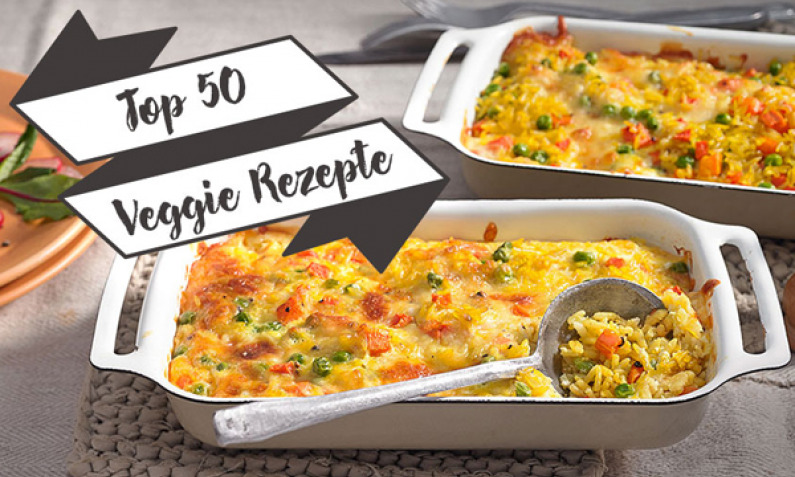 Top 50 Veggie Rezepte