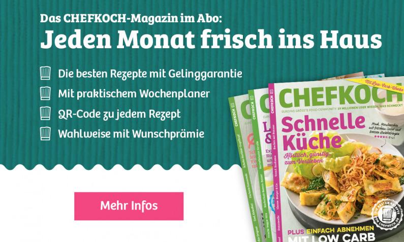 Chefkoch Magazin Abo