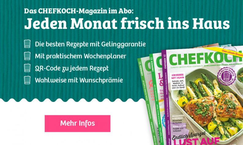 CHEFKOCH Magazin abonnieren