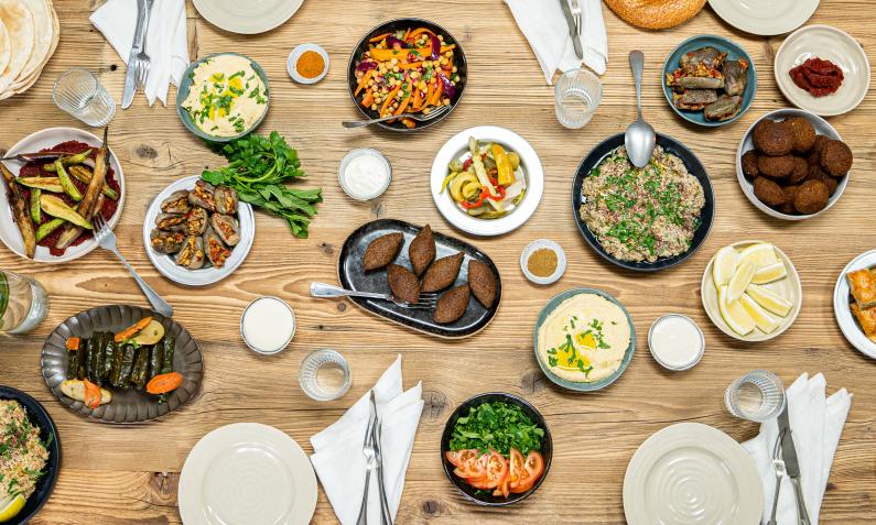 Levante-Küche – Shared Table