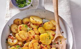 Heimelige Bratkartoffeln zwischen den Jahren