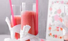 Erdbeer - Shake mit Joghurt