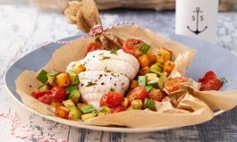 Mittelmeerdiät: Rezept Fischfilet im Pergament