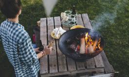 Must-Have für den Garten: die Feuerschale
