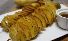 Kartoffelspiralen aus dem Ofen