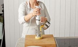 Kochen mit dem Stabmixer