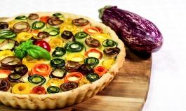 Gemüse-Blüten-Tarte