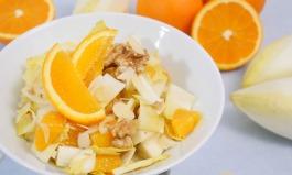 Chicoree-Orangen-Salat