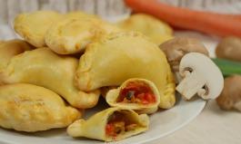 Empanadas mit Champignon-Füllung