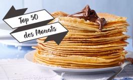 Top 50 des Monats