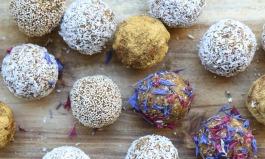 Karotten-Bliss-Balls