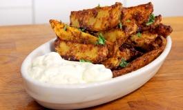 Parmesan-Kartoffelecken