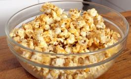 Karamell-Popcorn